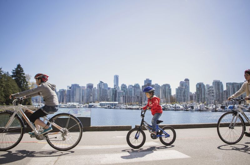 Image result for vancouver cycling